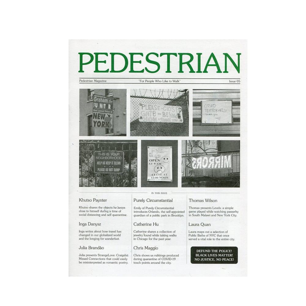 Image of Pedestrian Magazine