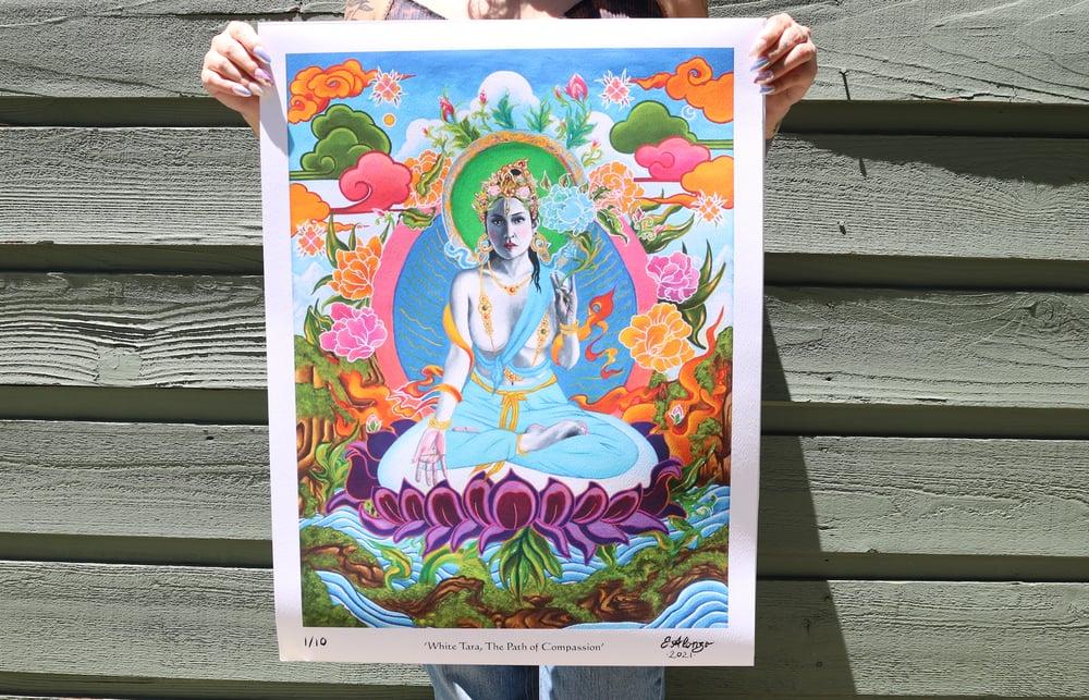 'White Tara, The Path of Compassion' LE Prints (Run of 10)