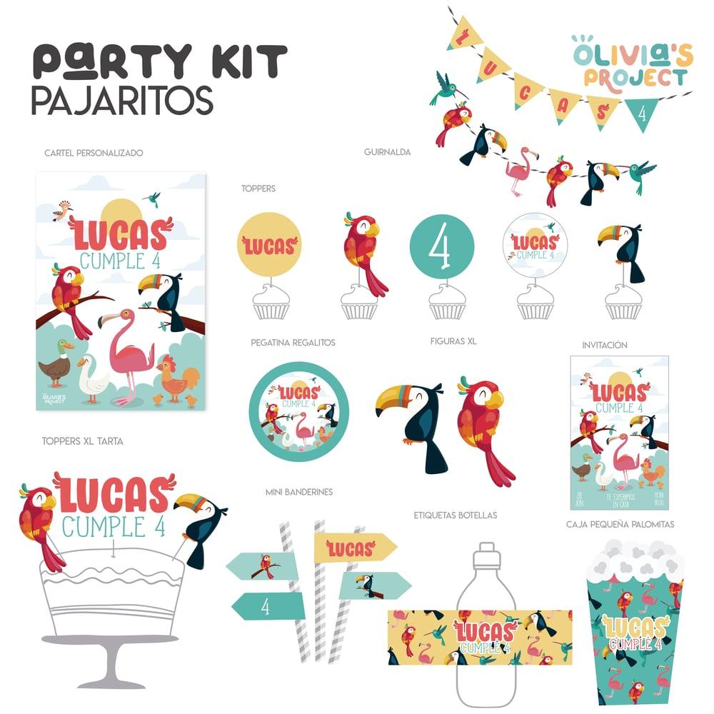 Image of Party Kit Pajaritos