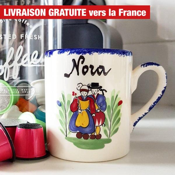Image of mug breton personnalisable - BRETON mug CUSTOMIZED