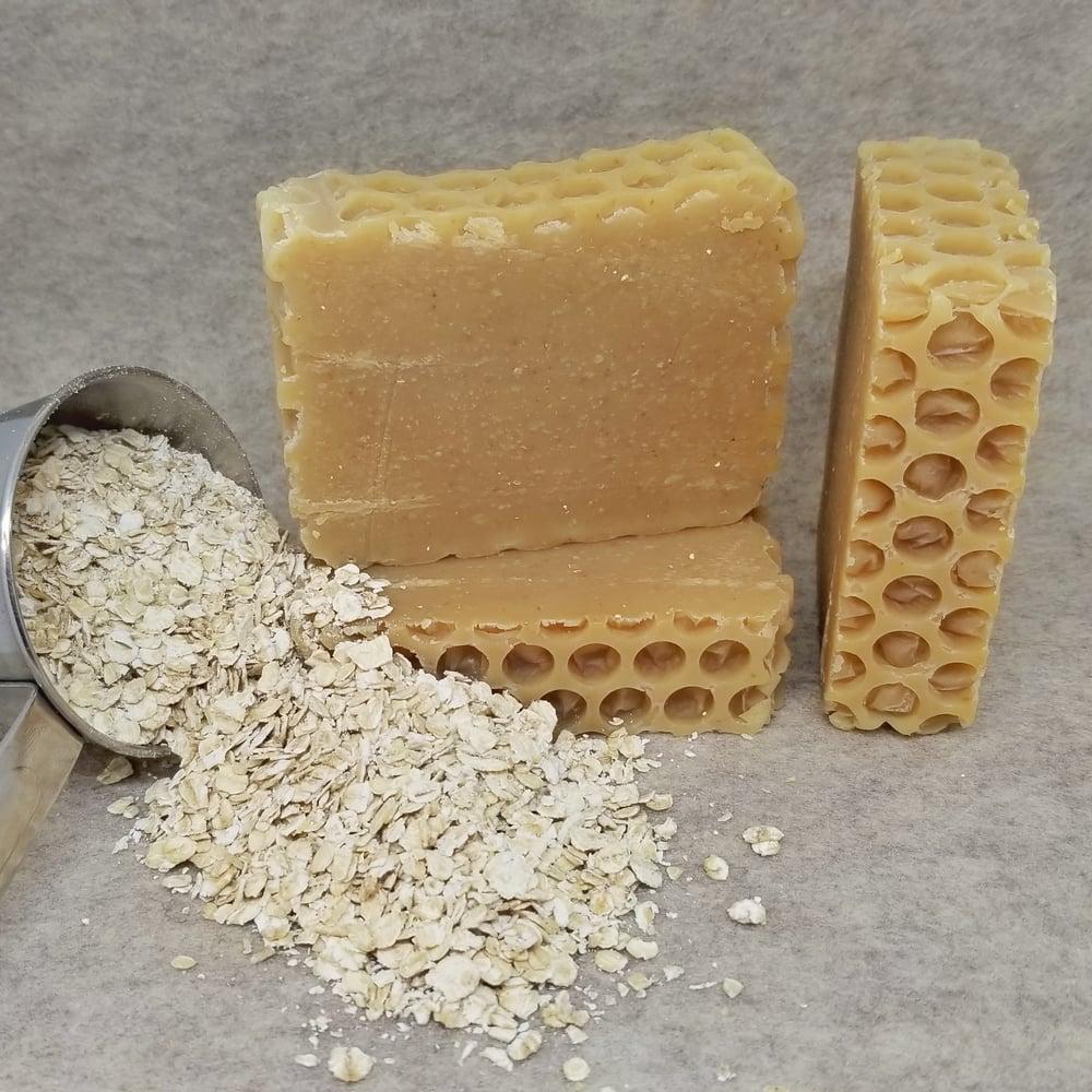 Image of OMH! Oatmeal, Milk, and Honey Goat Milk Soap