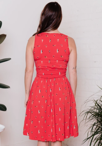 Image of Asheville Dress in Swimmers