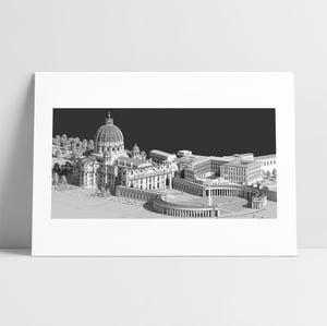 SAINT PIERRE DE ROME 50x70 - 50x100