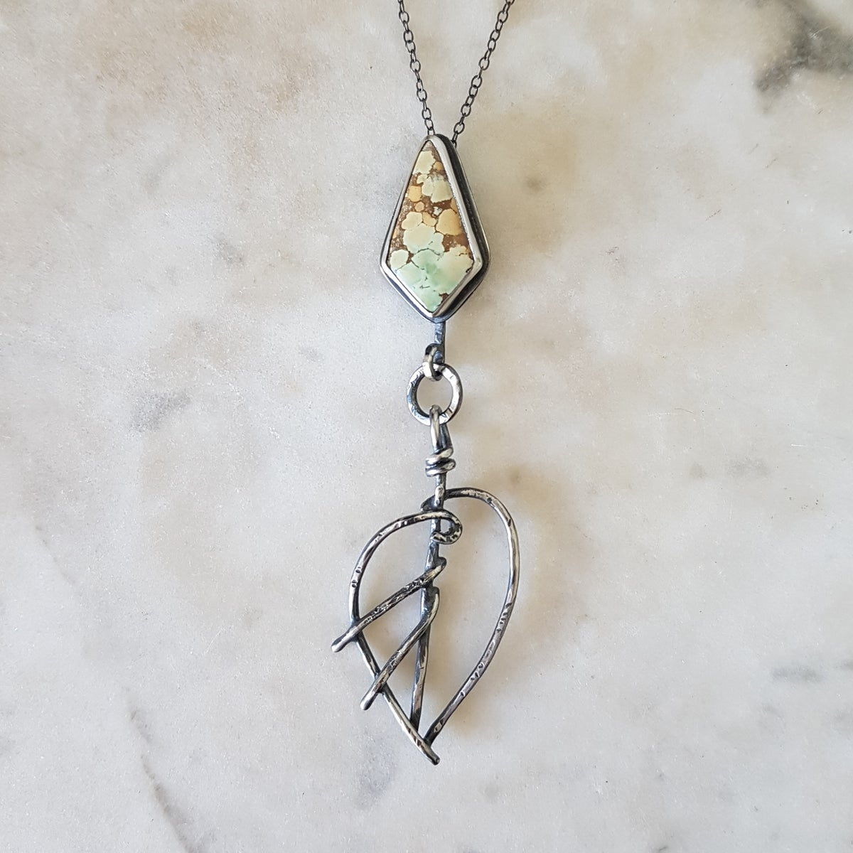 Image of Elf Dart w Sand Hill Turquoise