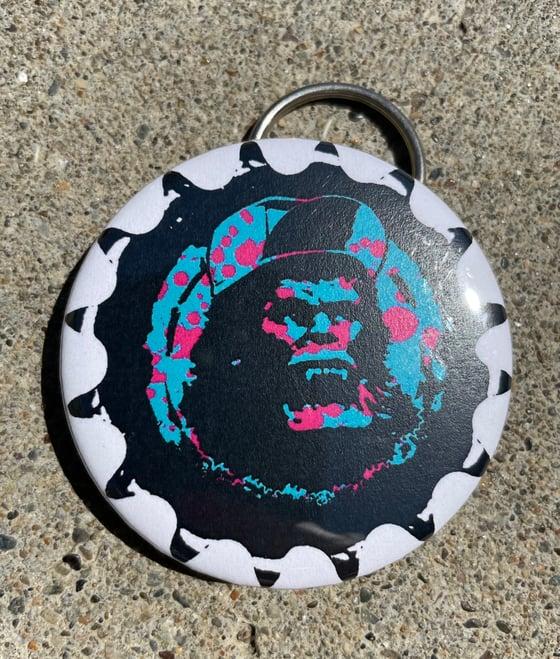 Image of KK bottle opener keychain