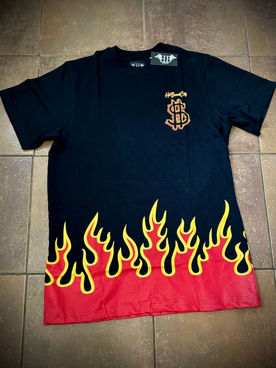 Image of HotBread City  Flames tee
