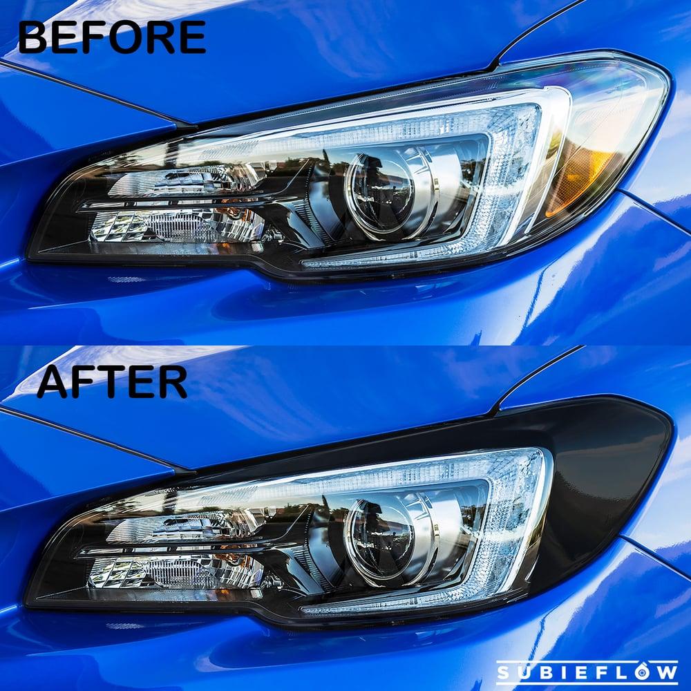 Image of Blackout Headlight Overlays