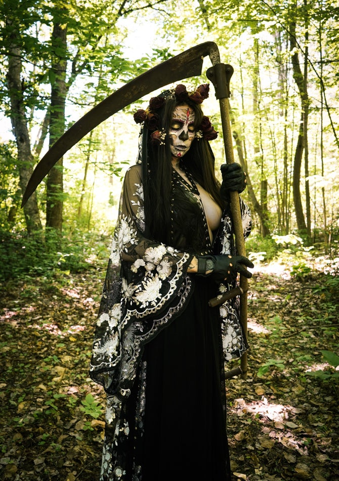 Image of Toxic Vision black Holy Death gown