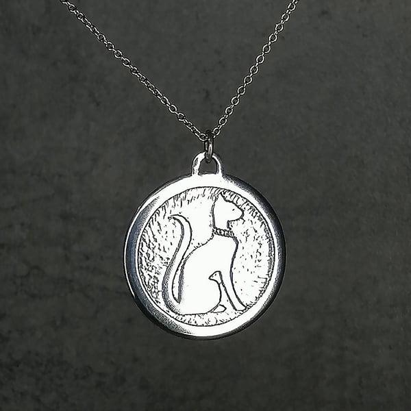 Image of Egyptian Cat Pendant