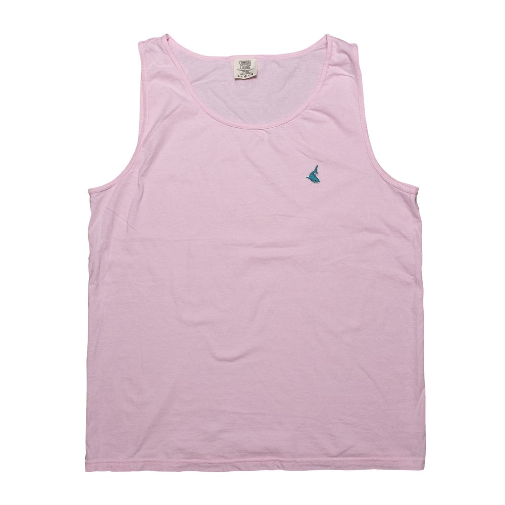 The Fin Tank in Light Pink