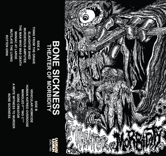 Image of Bone Sickness - Theater Of Morbidity Cassette