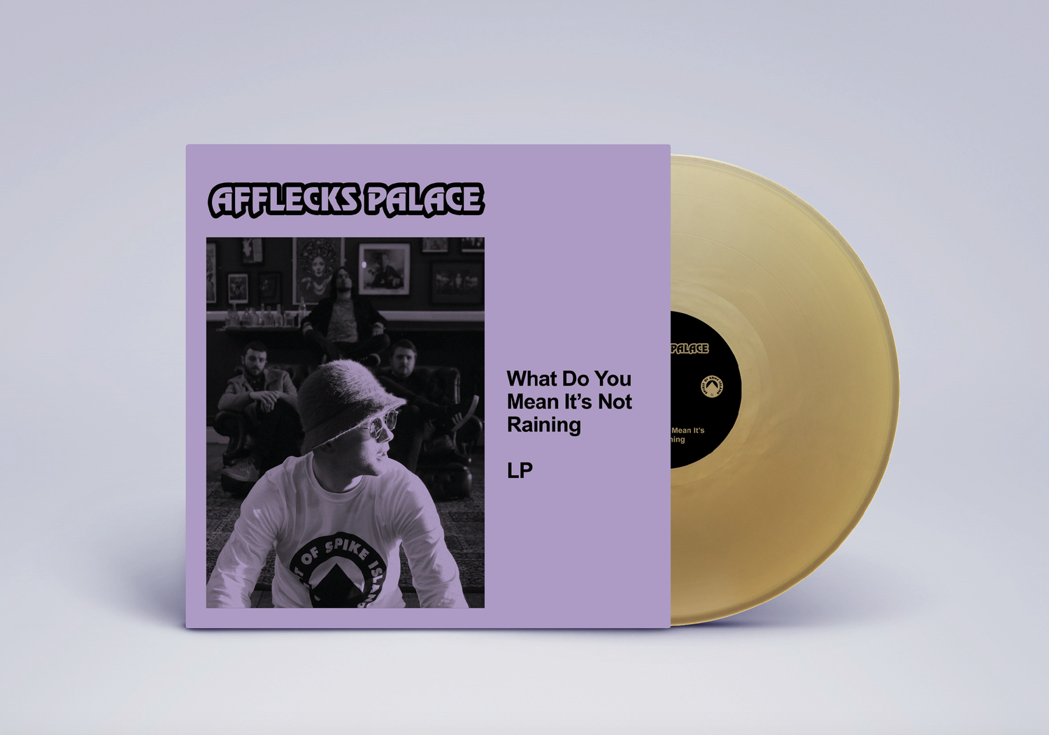 Image of PREORDER 3: Afflecks Palace - What Do You Mean Its Not Raining (MOLTEN GOLD VERSION)