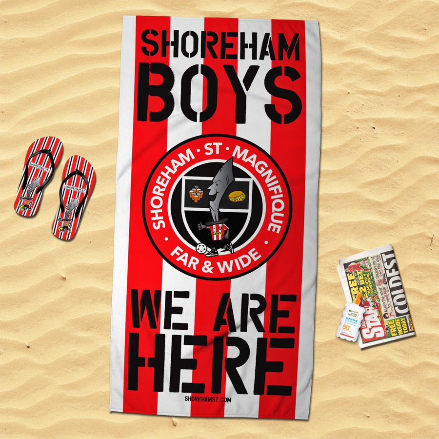 Image of Shoreham Boys Beach Towel