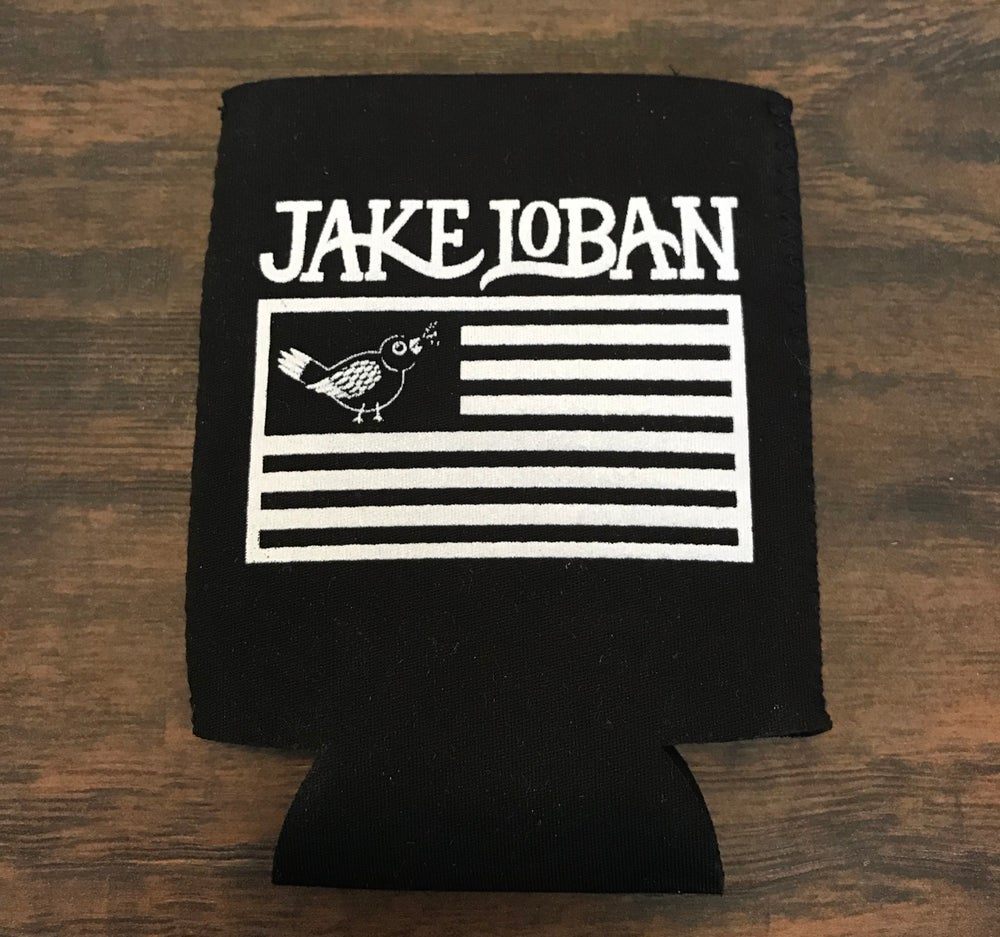 Image of Flag Logo Coozie