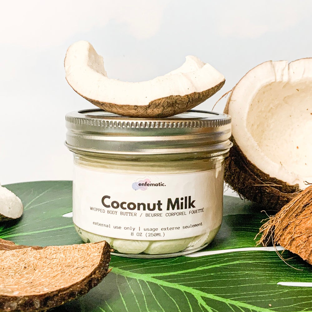 Image of Coconut Milk Whipped Body Butter