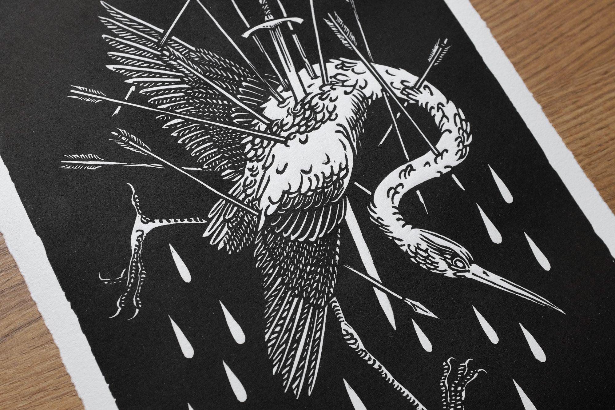 Image of PENDARD (linocut print)