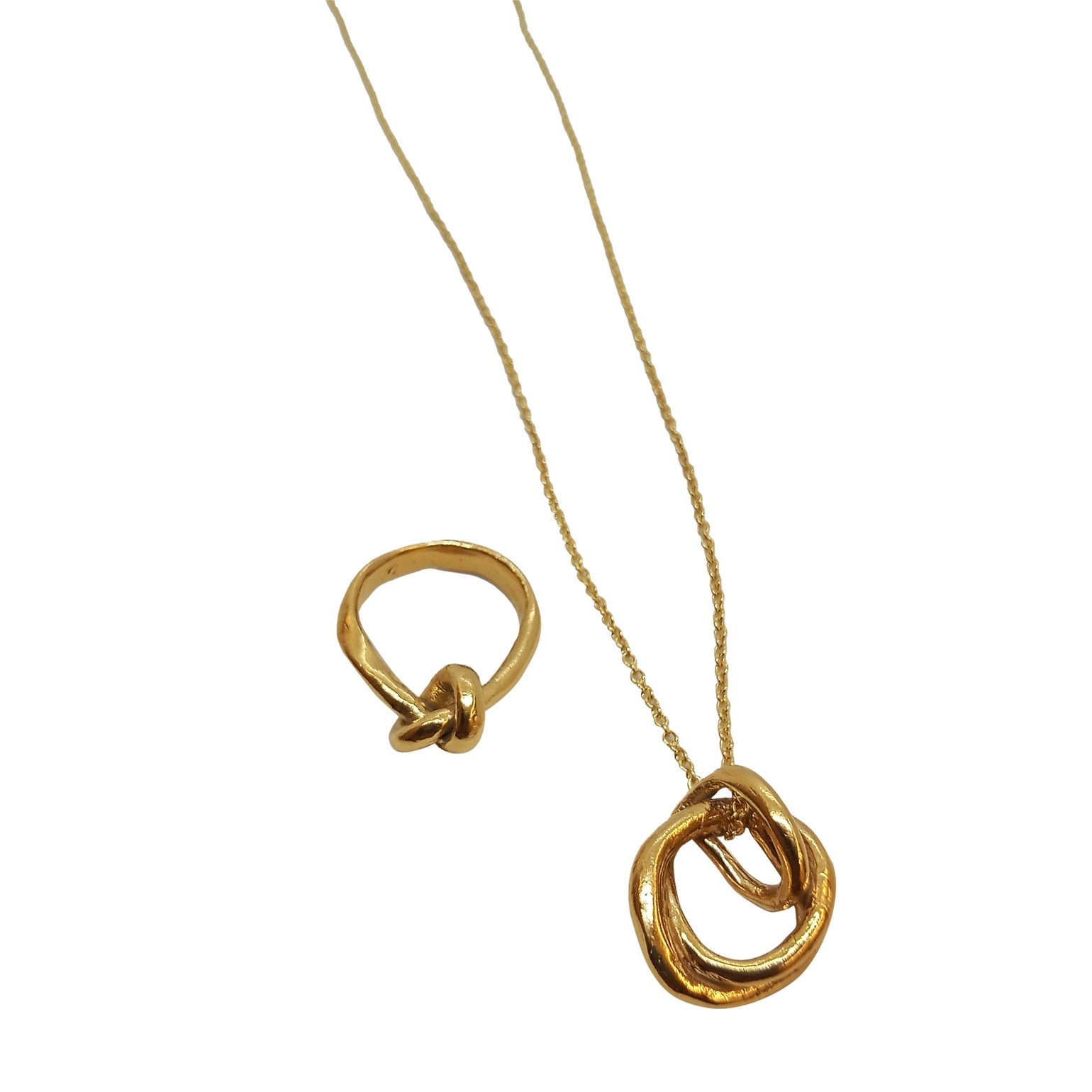 Image of Matching ring and necklace