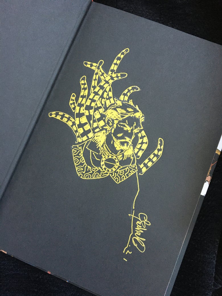 Image of DOCTOR STRANGE HARD COVER  with DRAWING