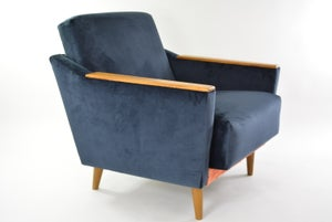 Image of Fauteuil Cube Grand tricolore