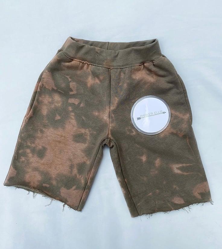 Image of Swirl Jersey Shorts