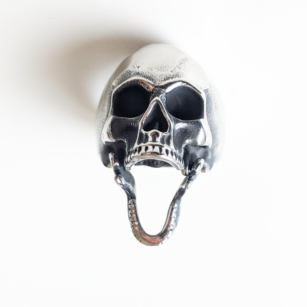 Image of Open Jaw Skull Ring