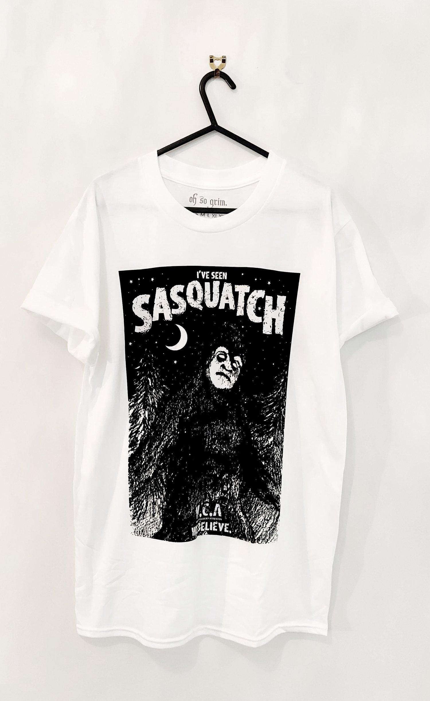 Image of Sasquatch T-Shirt (White)