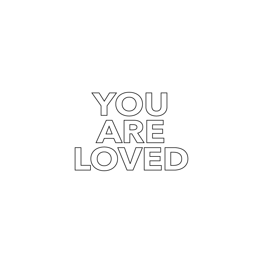 Image of YOU ARE LOVED stamp