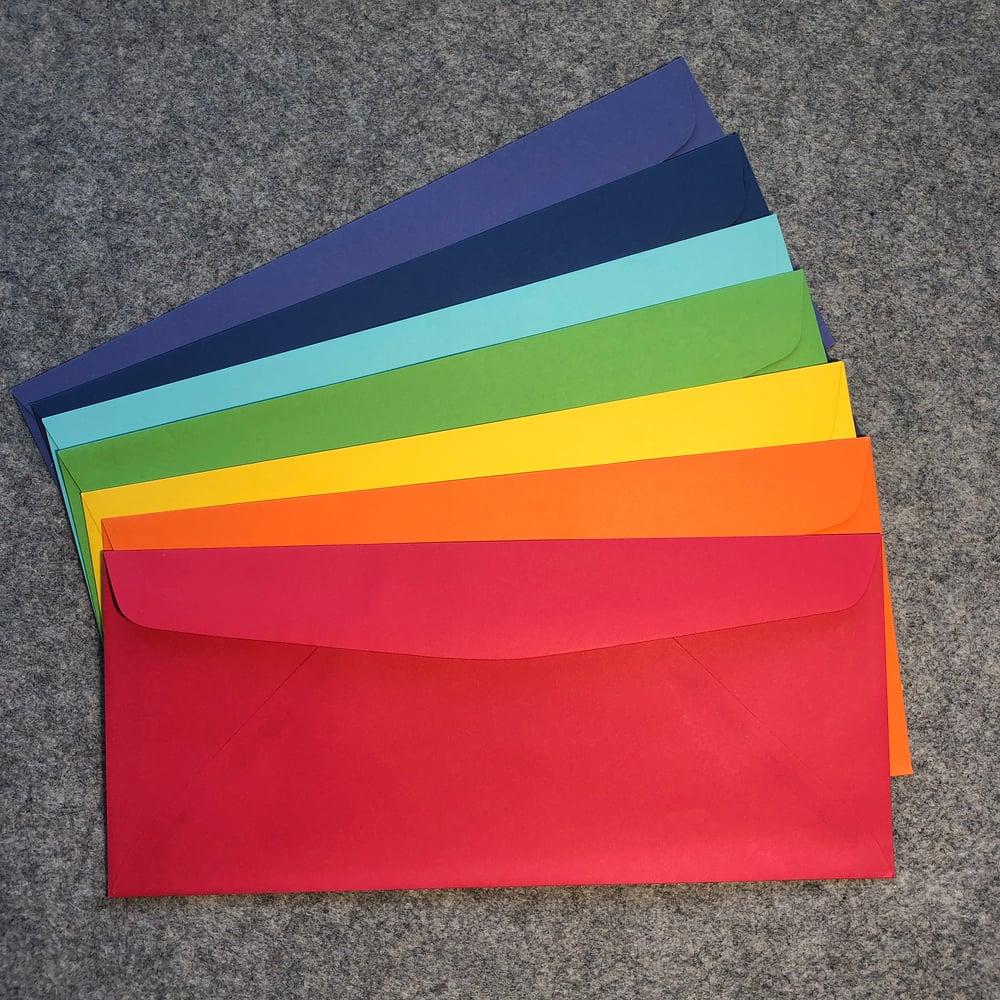 Image of #10 Rainbow Envelopes