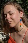 The Rainbow Burst Earrings
