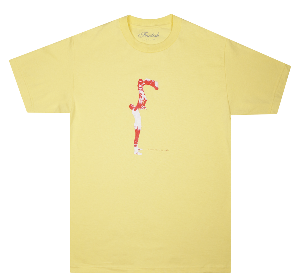 Image of Pick-Up Tee (Pale Yellow)