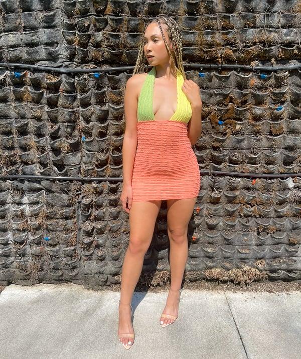 Image of Peach | Dress