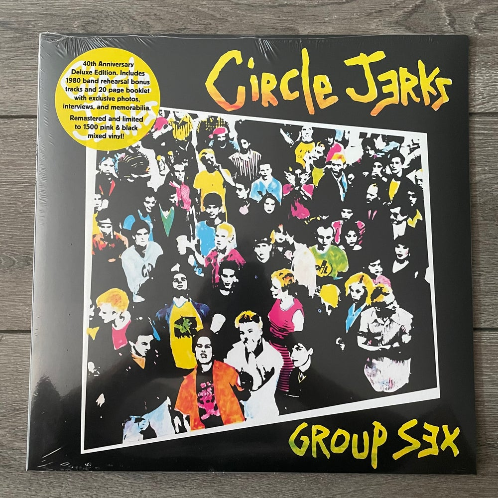 Image of Circle Jerks - Group Sex 40th Anniv. Deluxe Edition Vinyl LP