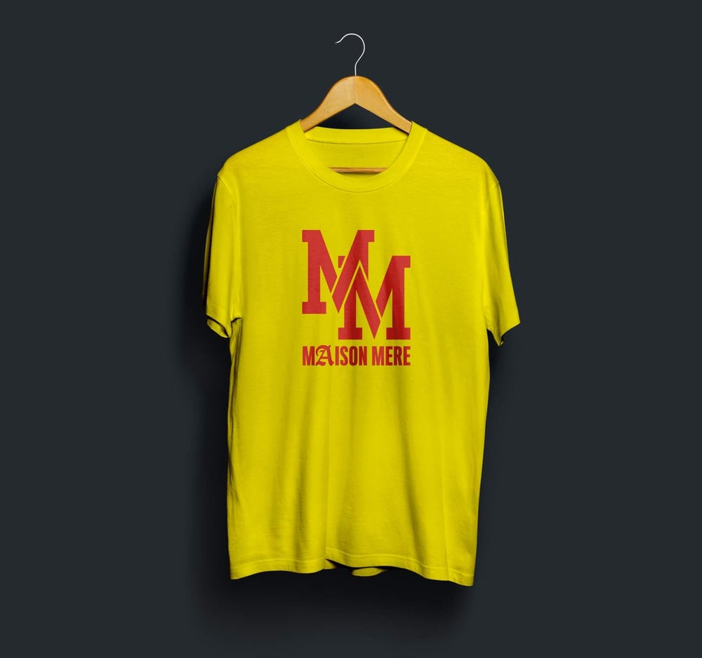 Image of MM Yellow Tee Maison Mère
