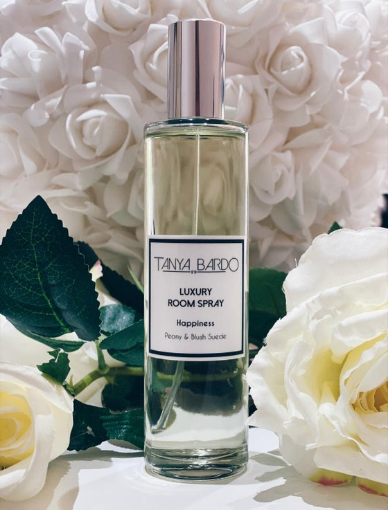 Image of NEW Happiness - Luxury Room Fragrance - Peony and Blush Suede