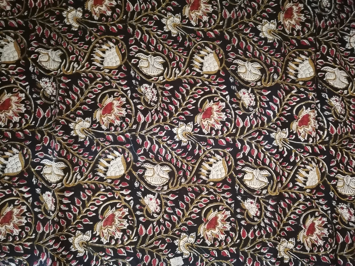 Image of Namasté fabric feuilles d'automne