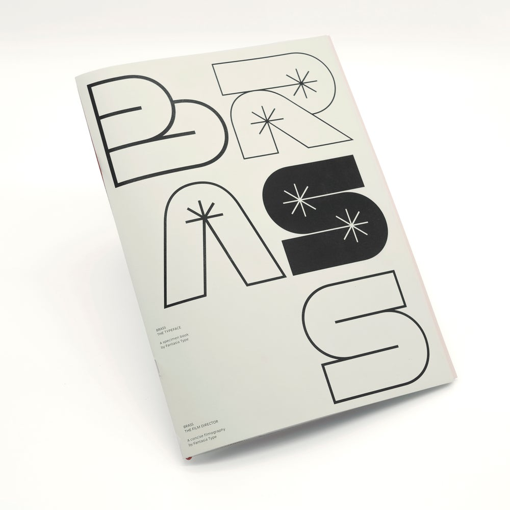 Image of Brass: The typeface / The film director