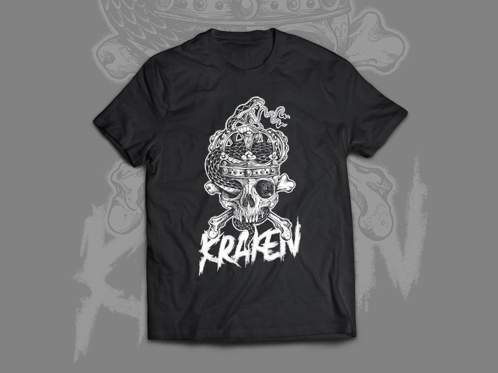 Image of T-Shirt KRAKEN SNAKE Black