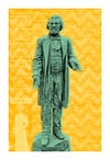 Douglass Statue Remix Print