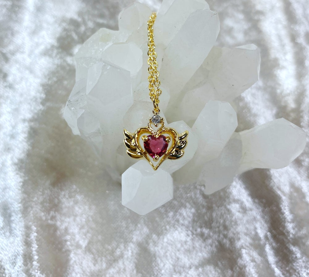 Image of January Sailor Moon necklace