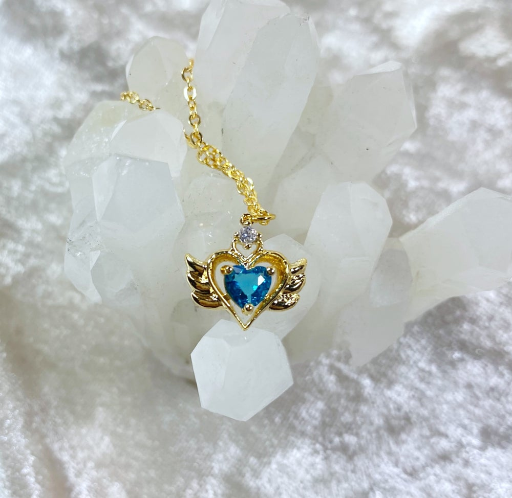 Image of March Sailor Moon necklace