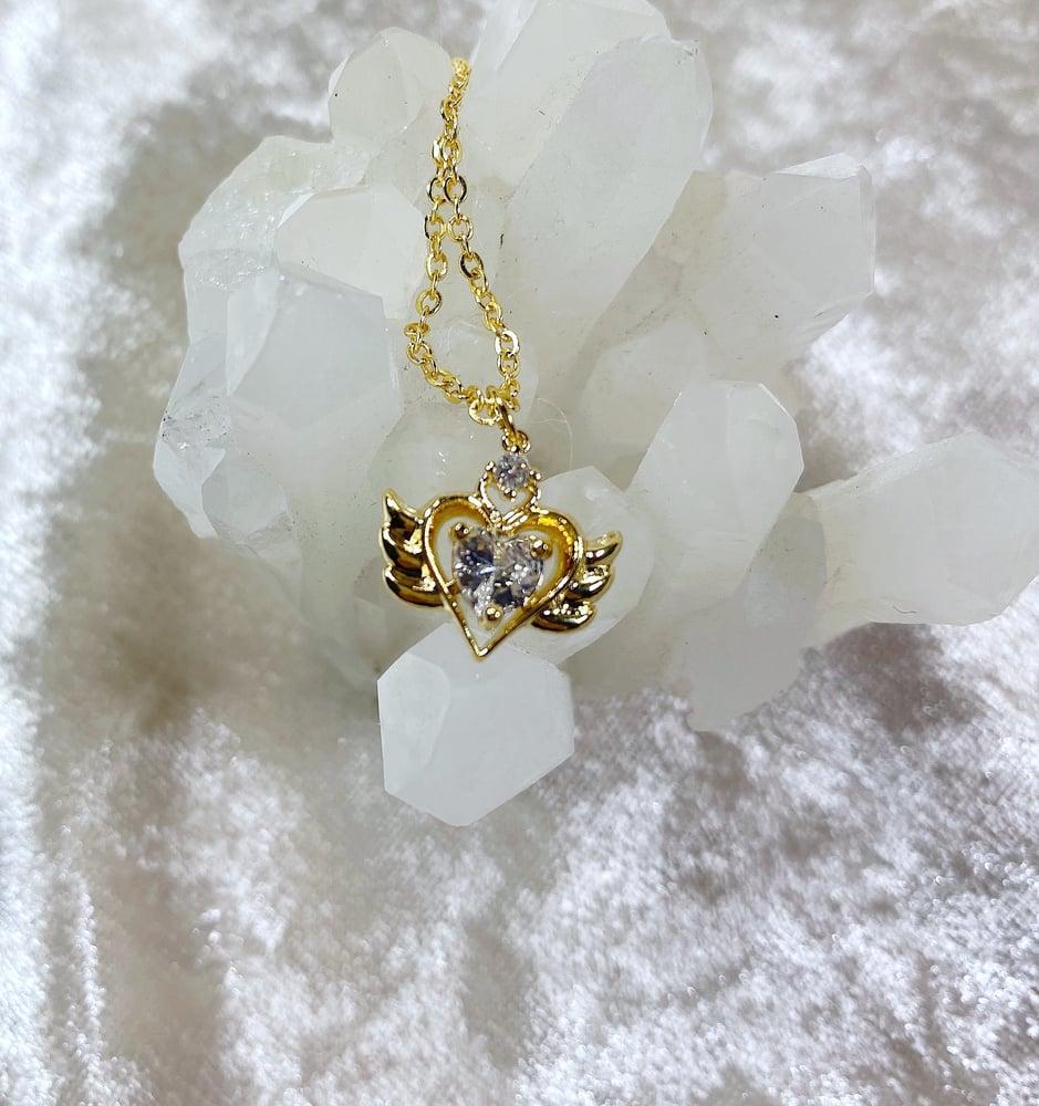 Image of April Sailor Moon necklace