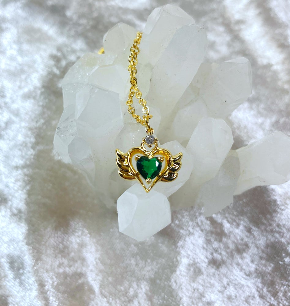 Image of May Sailor Moon necklace