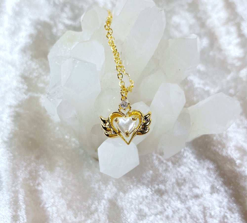 Image of June Sailor Moon necklace