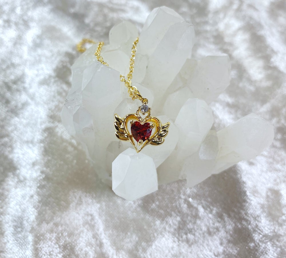 Image of July Sailor Moon necklace