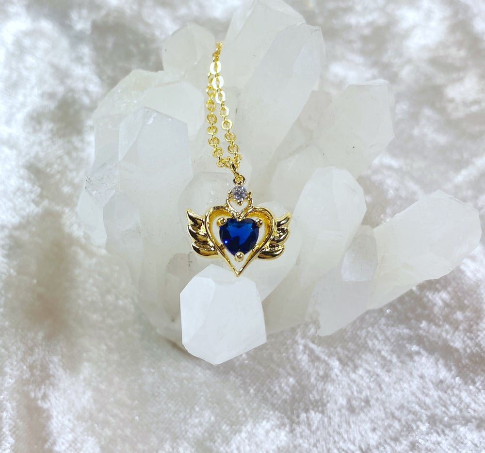 Image of September Sailor Moon necklace