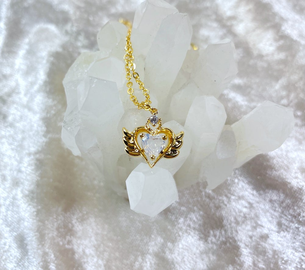 Image of October Sailor Moon necklace