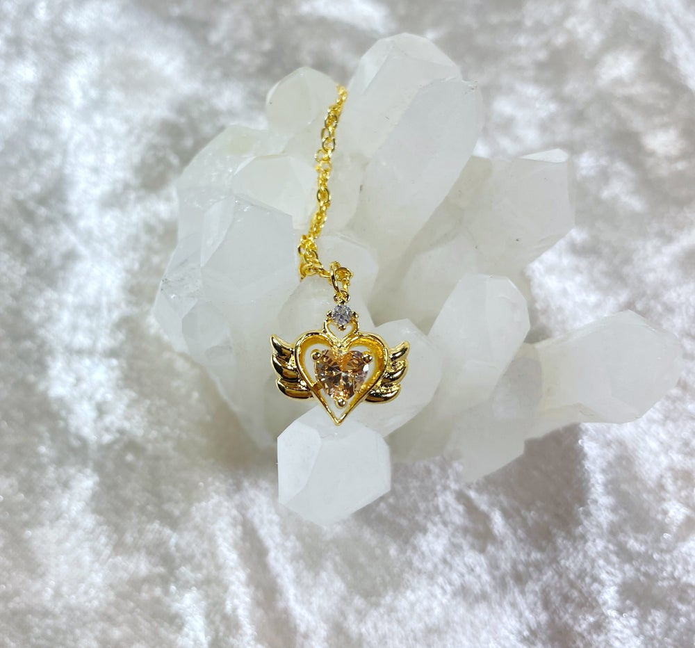 Image of November Sailor Moon necklace