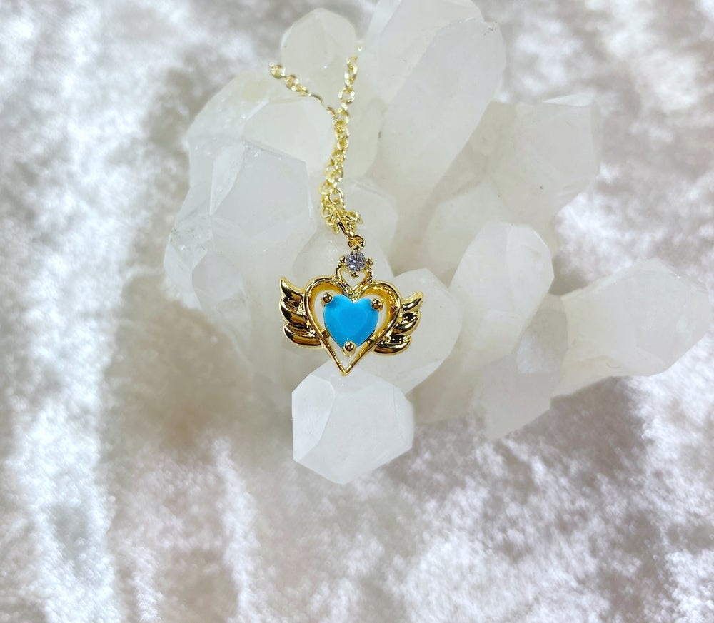 Image of December Sailor Moon necklace