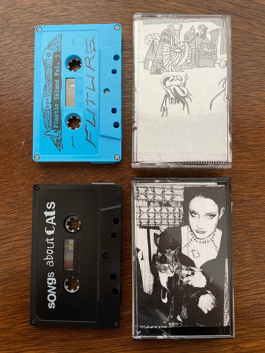 Image of Plastic Island Vol 4 & 5 compilation tapes