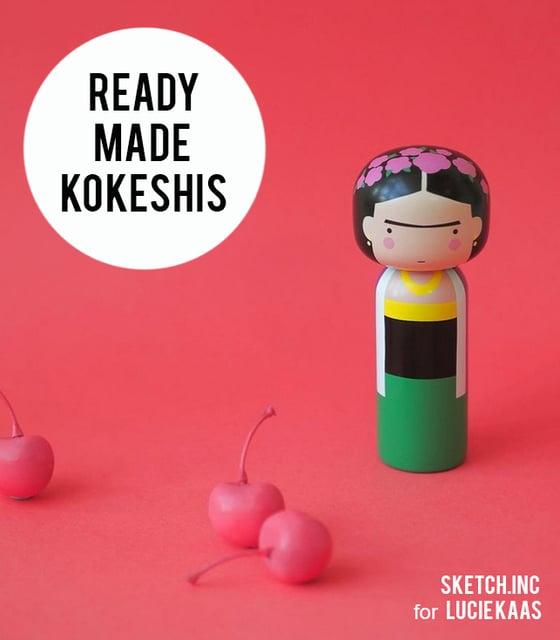 Image of READY MADE KOKESHIS
